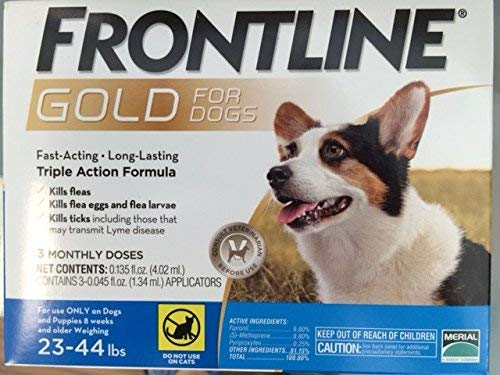 Frontline Gold 3 Dose 2344lbs