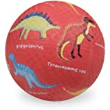 Crocodile Creek Dinosaurs 7 Playground Ball - Red