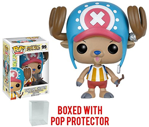 Funko Pop! Anime: One Piece - Tony Tony Chopper Vinyl Figure (Bundled with Pop BOX PROTECTOR (Chopper Pop)