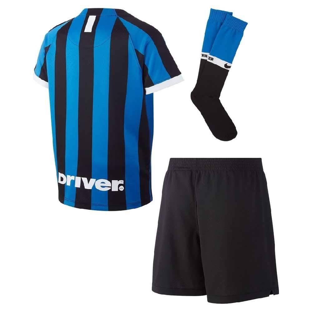 half off bd27b 8ea04 Nike 2019-2020 Inter Milan Home Little Boys Mini Kit: Amazon ...