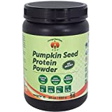 Organic Pumpkin Seed Protein Powder, Low carb, Vegan, Sugar Free, Gluten Free, 30 Ounce, 56 Servings
