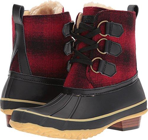 Chooka Women's Ballard Buffalo Duck Boot Red 10 M US