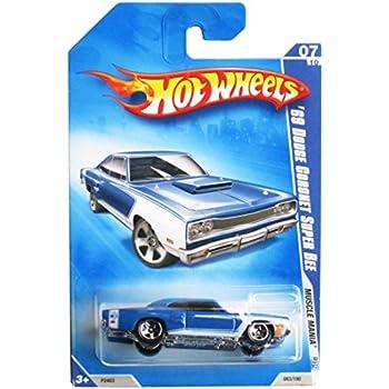 Hot Wheels /'69 Classic Dodge Coronet Super Bee Car Muscle Mania 2009 Blue 7//10