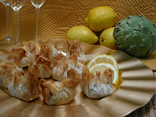 Order Bulk Artichoke Parmesan Beggar's Purse for Event - Frozen Vegan & Vegetarian Appetizer (Set of 8 Trays)