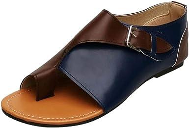 Amazon.com: Womens Peep Toe Flip Flops