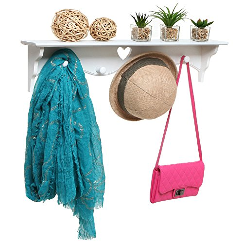 Mounted Floating Storage Entryway Organizer