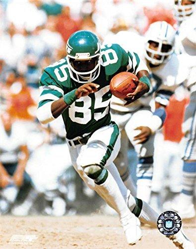 - Wesley Walker Unsigned 8x10 photo (New York Jets) Image #2