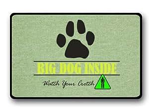Big Dog Crotch Indoor/Outdoor Doormat