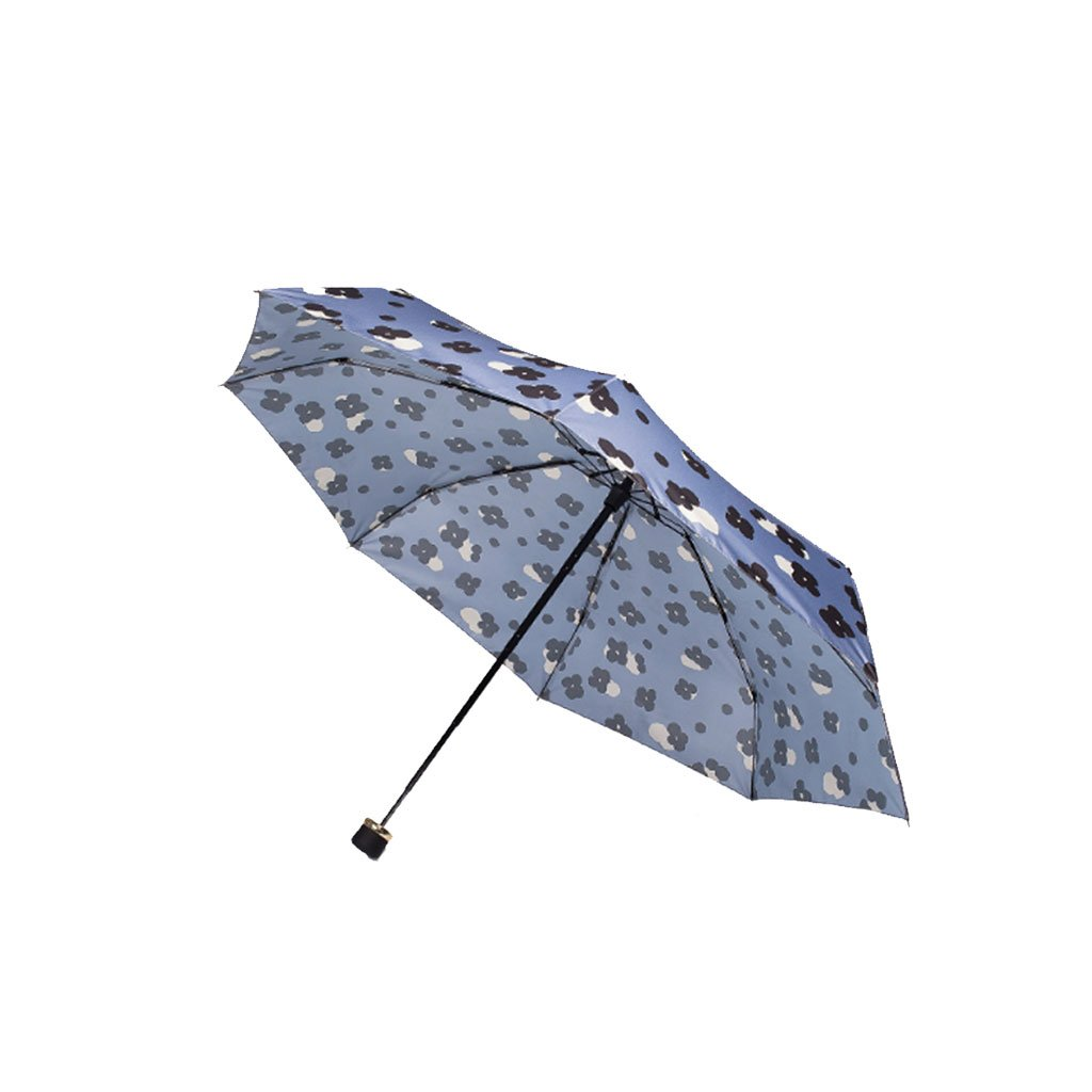 Teng Peng- Compact Travel Umbrella- Fashionable Portable Parasol Folding Umbrella Sun Shade Anti-uv Fast Drying Windproof Travel Umbrella for Women Household Umbrella (Color : 2)