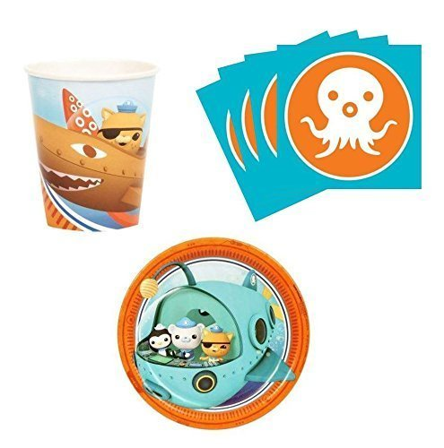 BirthdayExpress Octonauts Snack Pack Kit for