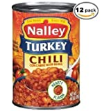 Nalley Turkey Chili Carne with Beans 14 oz (case of 12)