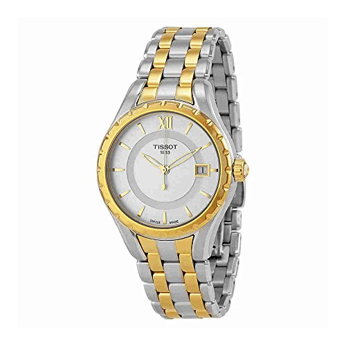 Tissot Women's TIST0722102203800 T-Lady Analog Display Swiss Quartz Two Tone Watch