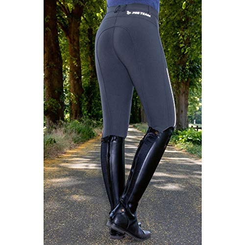 HKM PRO TEAM Speed Reflection Zoe Pants, dunkelbleu, 36 Womens