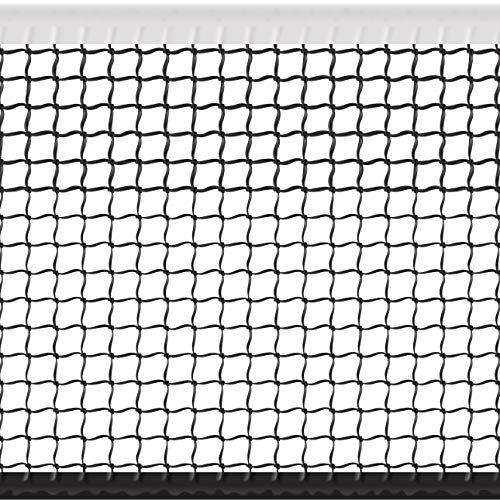 - Sport Nets Heavy Duty Tennis Net - Full Sized Professional Regulation 42 Ft Wide Replacement Tennis Net with Winch Cable (32 LBS)