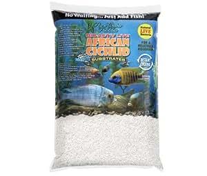 Sustratos de Cichlid africanos, bioactivos, Arena para Acuario, Color Blanco Natural: Amazon.es: Productos para mascotas