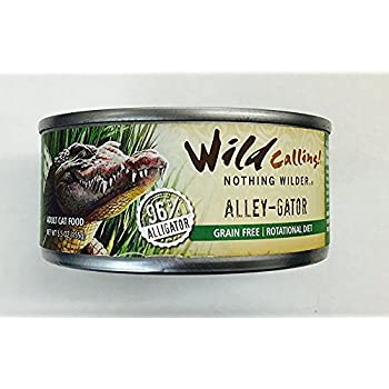Amazon Com Wild Calling Alley Gator Canned Cat Food 5