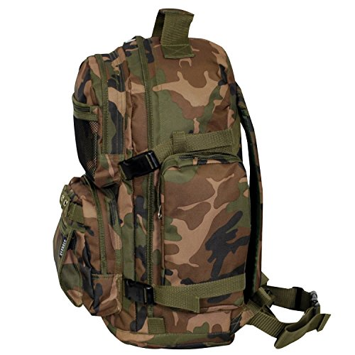 Camouflage Backpack One Camo Camo Woodland Backpack Everest Oversize One Size Everest Oversize Camouflage Camouflage Woodland XwfBqx7p