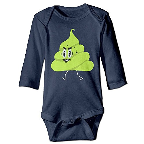 Joker Costume Walmart (Baby Bodysuit Poop One Piece Baby Long Sleeve Boy Jumpsuit 6 M Navy)