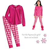 American Girl CL MY AG FAIR ISLE PAJAMAS SIZE SMALL (7-8) for Girl Pink PJ's NEW