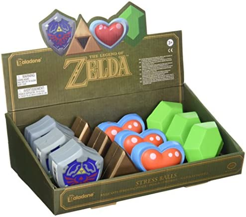 Legend of Zelda 3D Stress Balls 8 cm Display (12) Paladone Products Mini figures: Amazon.es: Juguetes y juegos