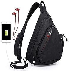 Sling Bag,Crossbody Backpack Chest