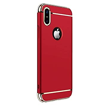 coque iphone xs max rouge mat