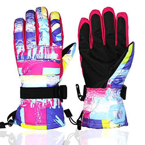 Momoon Gloves,Winter Snow Gloves for Outdoor Sports,Skiing,Sledding,Cycling,Snow Snowboarding,Snowmobile Unisex