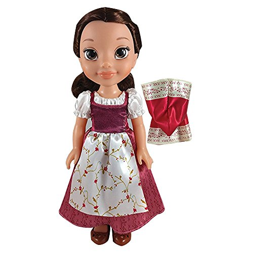 Hot Sale 2017 Disney Beauty And The Beast Belle Red Dress 14 Inch Doll With