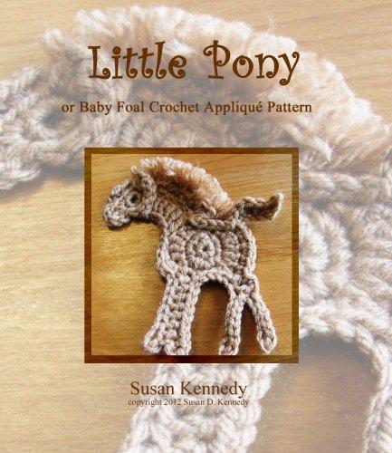 Susan's Crochet Pony Appliqué Pattern