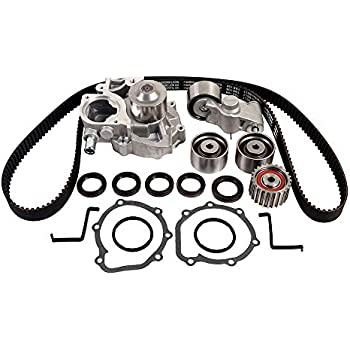 Maxwin TCKWP304A TCK304 Timing Belt Kit with Water Pump for Subaru Forester Impreza Legacy Outback 2.5L H4 EJ253 Engine