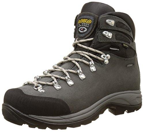 Asolo Tribe Gv mm, Zapatos de High Rise Senderismo para Hombre Gris (Grafite)