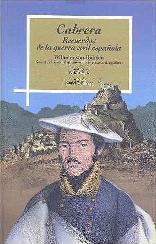 CABRERA: Amazon.es: VON RAHDEN, WILHELM: Libros
