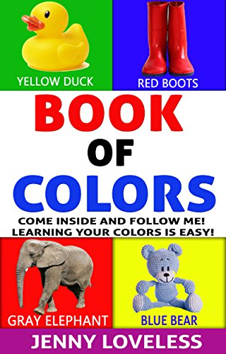 Kids Books: Book of Colors (An Educational Learning Book About ...