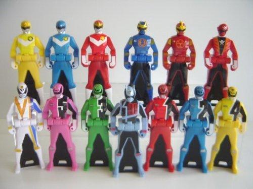 Pirate Sentai Gokaiger Ranger key 5 all 13 species master all 13 species 1 Gokai Red 2 Dekareddo 3 deca (Red Gokai)