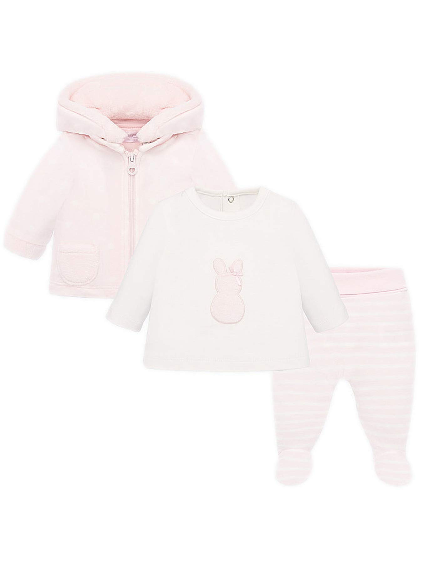Mayoral 19-02606-016 - Tracksuit for Baby-Girls 2-4 Months Baby Rose by Mayoral