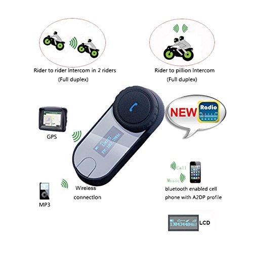 40e6451099b80 well-wreapped Casque de moto Casque Bluetooth Interphone, FreedConn ...