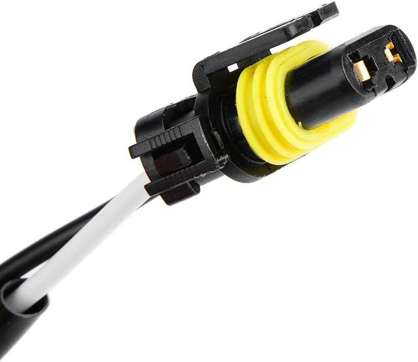 Duokon Faisceau de C/âblage de Phare de voiture Kit de Conversion de Lampe de Brouillard Faisceau de Relais Compatible avec Prise 9005 9006 Noir