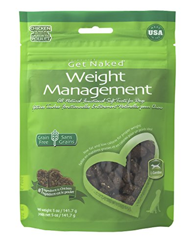 Get Naked 1 Pouch Weight Management Soft Dog Treats, 5 Oz