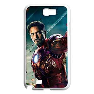 Winfors Avengers Age of Ultron iron man Phone Case For Samsung Galaxy Note 2 N7100 [Pattern-2]