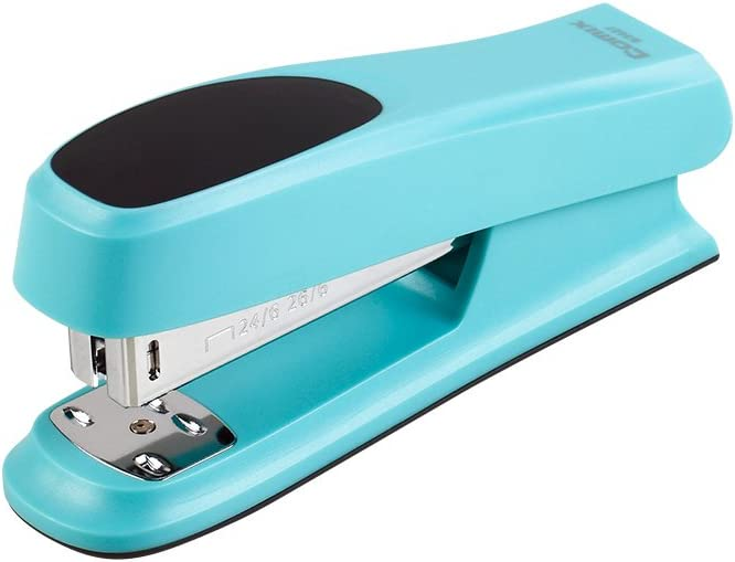 Comix B3027 Fashionable Stapler 20 Sheets Capacity (Blue)