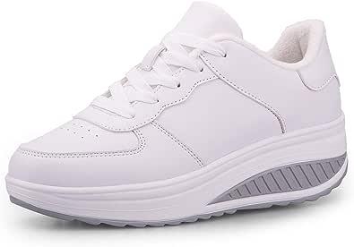 Botas De Nieve De Invierno Mujer Adelgazar Zapatos Calientes Fur Botines Sneakers Zapatos de Plataforma de Cuña de Fitness Zapatos de Andar Impermeable Anti Deslizante Zapatos