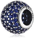 Pandora 791051NCB - Abalorio de plata de ley con cristal