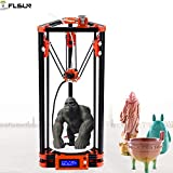 Best 3D Printers - Flsun 3d Printer Delta Kossel Diy Kit Desktop Review