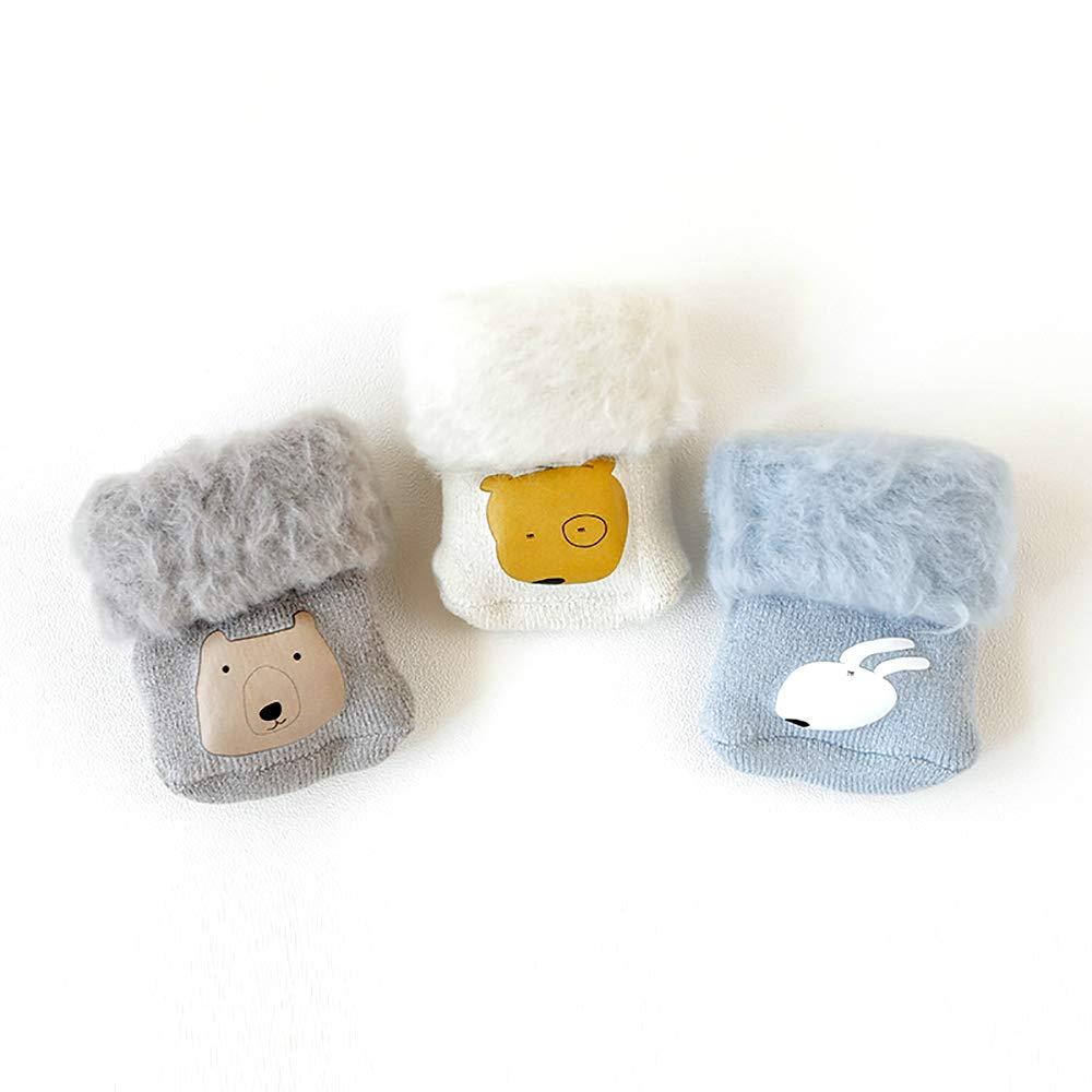 SuYoYo Baby Warm Winter Thick Fur Socks Toddler Boys Girls Socks