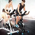 LJMG-Spin-Bike-Ciclismo-Muto-Indoor-Cyclette-Home-Pedal-Bike-Fitness-Perdita-di-Peso-Cyclette-Palestra-Bicicletta-Multifunzione-Color-Black-Size-109-48-108cm