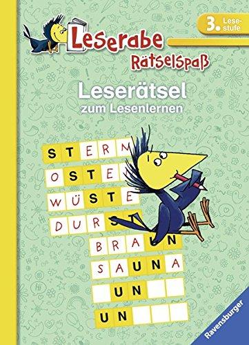 Leserätsel zum Lesenlernen (3. Lesestufe) (Leserabe - Rätselspaß)