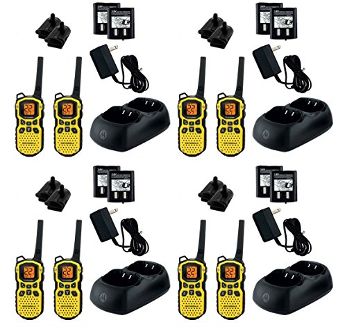 8-PACK Motorola TALKABOUT MH230R FRS/GMRS 2-Way Radios, 23-Mile Range 22 Channels, Brand New Sealed 8 PACK