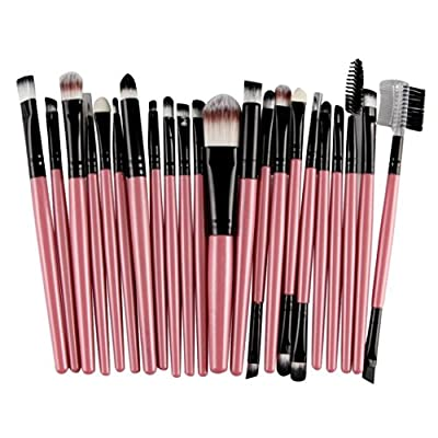 Han Shi Brushes, Fashion 22Pcs Makeup Brush Tools Lip Powder Eye Shadow Toiletry Kit