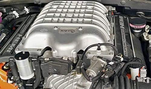 Chrome CFM Performance 1-0305-2 Baffled Billet Valve Cover Breather Filter Oil Cap 2015-2016 Dodge Charger SRT Hellcat 6.2