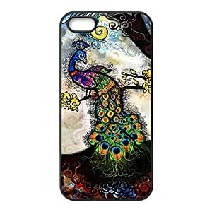 Colorful peacock Cell Phone Case for iPhone 5S